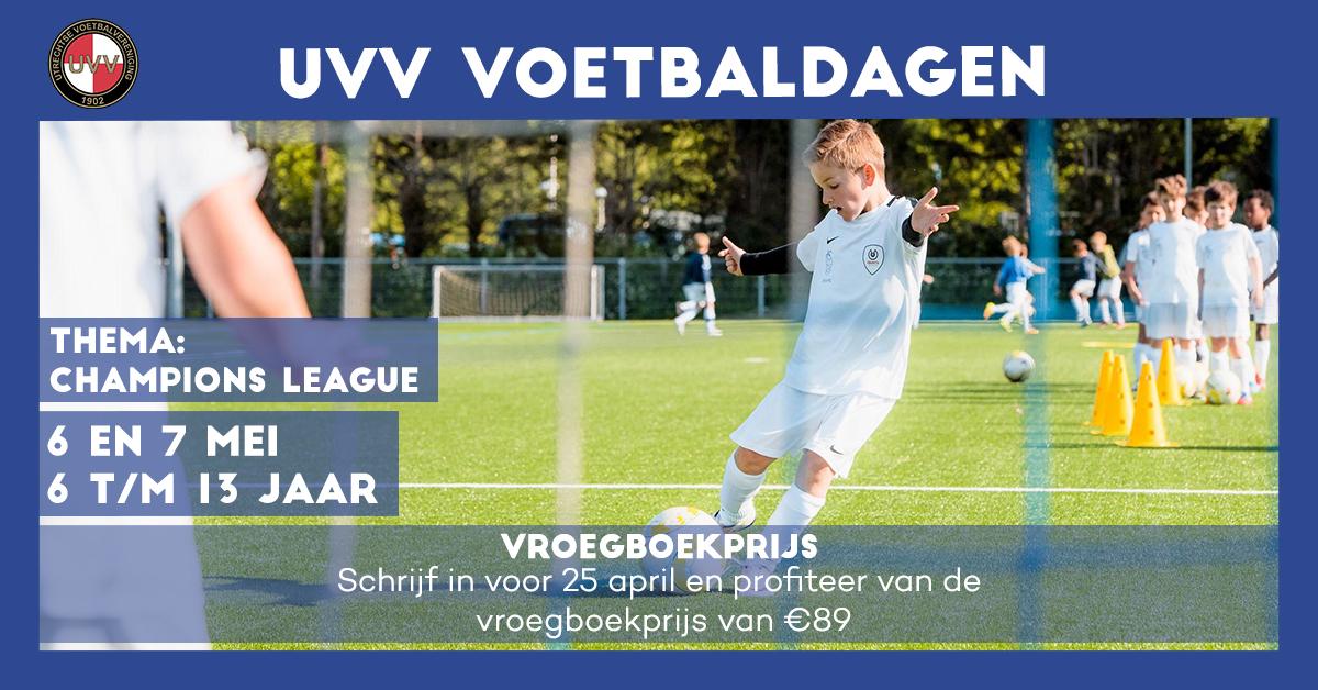 UVV Voetbaldagen Thema Champions League